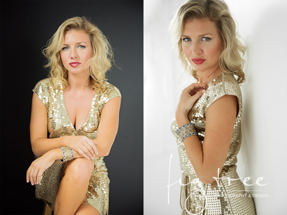 Glamour session - Aleksandra as Kim Basinger - Malvern