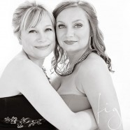 Mother & Daughter glamour photography session