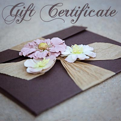 Gift Certificate for a Fine-Art Photography