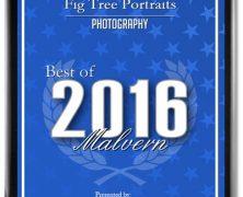 Best Photographer in Malvern – again!
